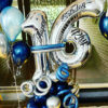 Number balloons Bouquet