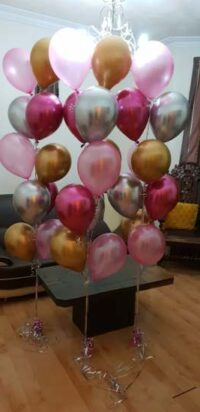 Colourful Balloons Bouquet