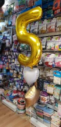 Helium Number Balloon in SE1 and SE16